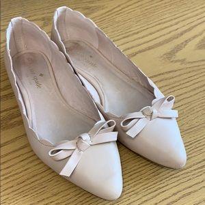 Kaye Spade Elena Flex scalloped ballerina flats
